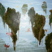 Pasaulis, aliejus 60x70 cm